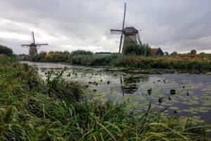Rotterdam Windmills © Copyright PStevenson