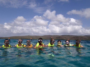 snorkeling gilligan's island